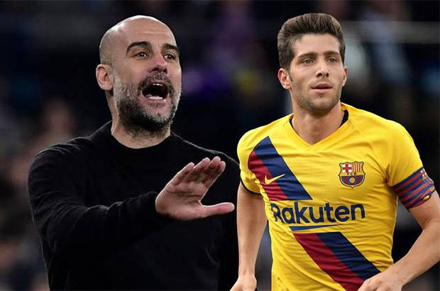 Digosipkan Gabung Manchester City, Sergi Roberto Pilih Bertahan di Barcelona