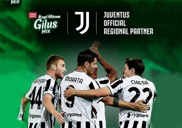 Juventus Resmi Gandeng Gilus Mix Sebagai Mitra Regional