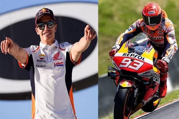 Konfirmasi Ikut Balapan di MotoGP Jerman, Marquez: Tak Ingin Jadi Pengecut