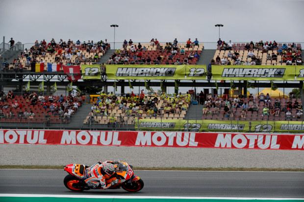 Ini Toh yang Bikin Marc Marquez Jatuh di GP Catalunya