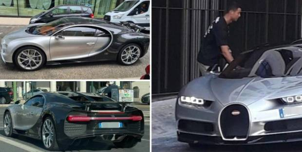Supercar Superstar Bola: Bugatti Centodieci Ronaldo Rp161,5 M