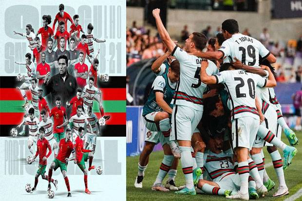Hasil Tes Timnas Portugal Negatif Covid-19
