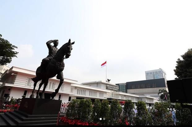 Patung Soekarno Berkuda Simbol Perjuangan Mempertahankan Kemerdekaan