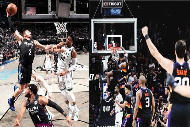 Hasil Semifinal Playoff NBA 2020/2021, Selasa (8/6) WIB