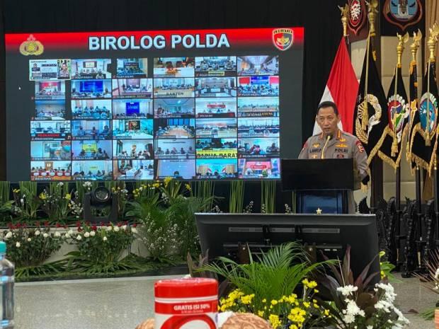 Kapolri Jenderal Listyo Sigit Instruksikan Jajarannya Percepat Penanganan Wilayah Bencana