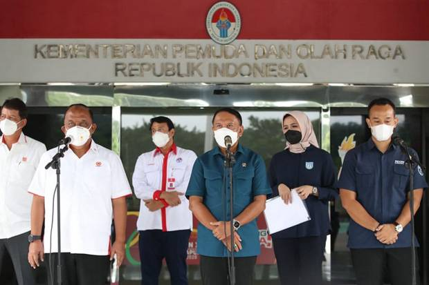 KONI Menpora Tegaskan PON XX Papua Sesuai Jadwal