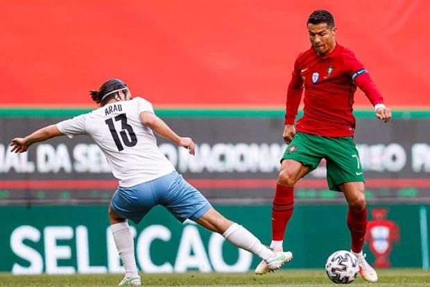 Ronaldo Datang ke Piala Eropa 2020, Dekat dengan Rekor Ali Daei