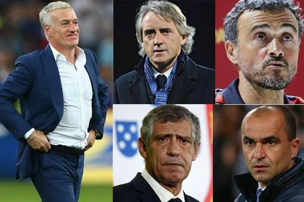 5 Pelatih Terbaik di Piala Eropa 2020, Deschamps Teratas