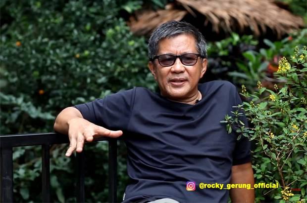 Akui Gelar Profesor Megawati Kental Politis, Rocky Gerung Ucapkan Selamat