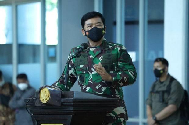 Di Kediri, Panglima TNI Tekankan Disiplin Prokes Harus Jadi Kebutuhan Utama