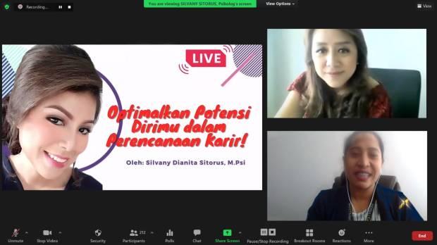 Dukung Mahasiswa Optimalkan Potensi, Hario Aplikasi Asuransi Online x Kampus PTASN Gelar Webinar Rencana Karier
