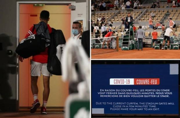 5.000 Fans Ngamuk Diusir gara-gara Jam Malam saat Djokovic Ke Semifinal