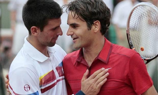 Djokovic Kaget Dengar Roger Federer Mundur dari Prancis Terbuka 2021