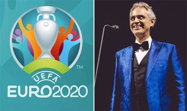 Suara Emas Andrea Bocelli Siap Guncang Pesta Pembukaan Piala Eropa 2020