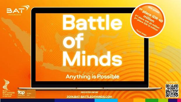 Battle of Minds Ajak Para Inovator Buat Perubahan