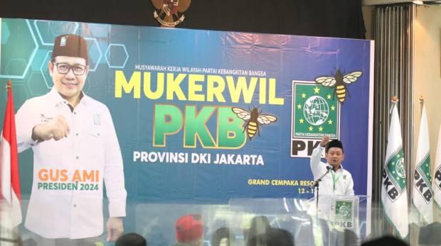 Punya Pengalaman Panjang, PKB Jakarta Dukung Gus AMI Nyapres