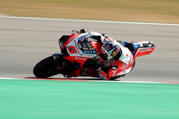 Zarco Panaskan Perebutan Juara Dunia MotoGP 2021, Bagnaia Anggap Biasa