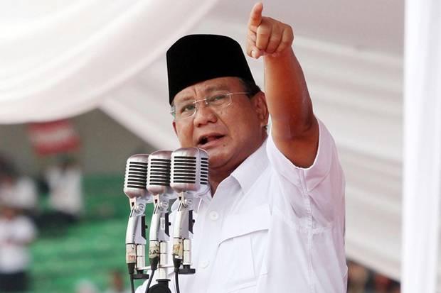 Prabowo Ungkap Ada Oknum yang Mau Jual Indonesia ke Negara Asing