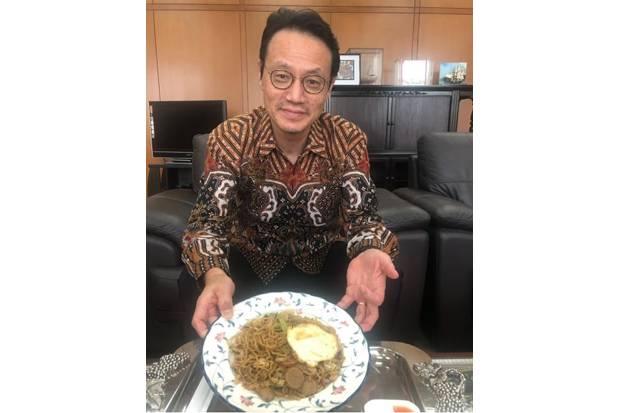 Dubes Jepang untuk RI Kanasugi Kenzi: Saya Sangat Menyukai Mi Indonesia