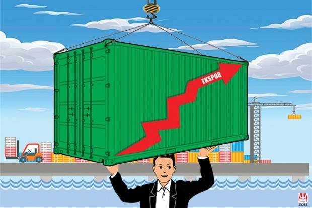 BPS: Ekspor Mei Meningkat 58,76% Tembus USD16,60 Miliar
