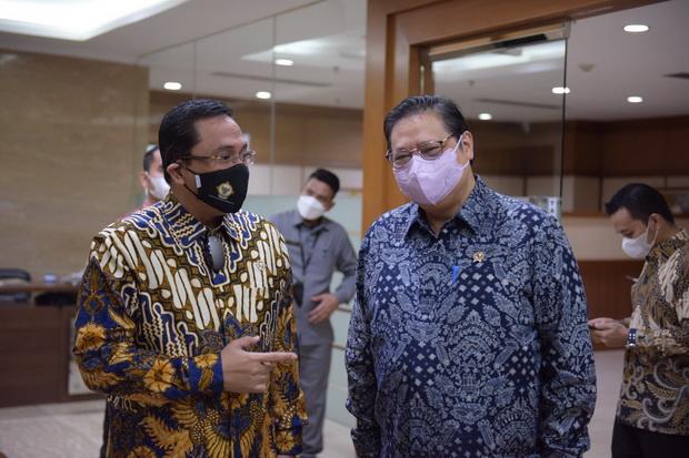 Menko Airlangga: Rekomendasi BPK RI Berperan dalam Mematangkan Kebijakan Ekonomi di Masa Pandemi