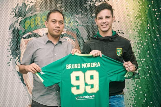 Bruno Moreira Gabung Persebaya, Aji Beri Ekspektasi Tinggi
