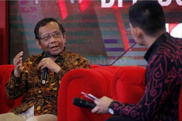 Mahfud MD Ajak Kiai di Bangkalan Sadarkan Masyarakat tentang Bahaya Covid-19