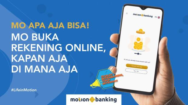 MotionBanking BABP Melesat Jadi Favorit, Teddy Tee: One Stop Banking Services Apps in Your Hand!
