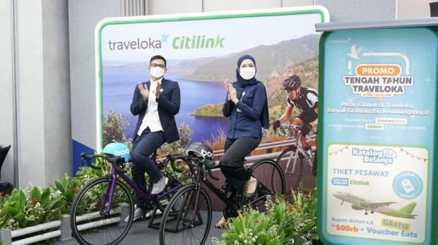 Traveloka dan Citilink Kolaborasi Dorong Pemulihan Pariwisata Domestik