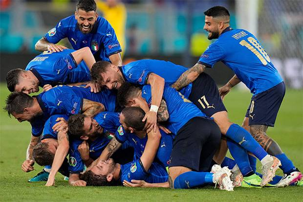 Piala Eropa 2020: Italia Lolos ke Babak 16 Besar Usai Bungkam Swiss