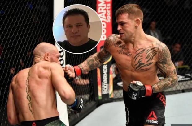 McGregor Dibekuk Poirier, Pelatih Khabib: Aku Tak Pernah Ingin Dia Menang