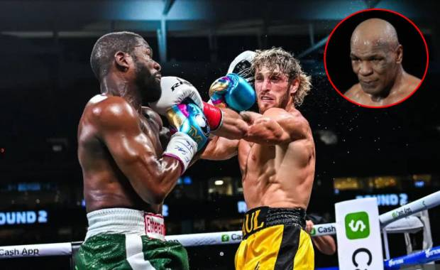 Tyson Salah Remehkan Logan Paul: Kamu Tendang Pantatnya, Kamu Jahat!