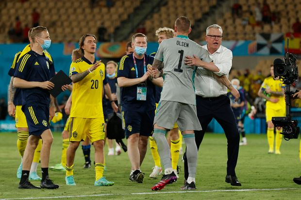 Bidik Kemenangan Pertama, Swedia Siapkan Taktik Baru Hadapi Slovakia