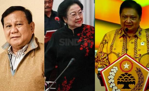 Tiga Skenario Nasib Hubungan PDIP, Gerindra dan Golkar di Pilpres 2024