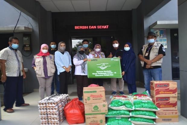 LPKR Bantu Masyarakat Terdampak Pandemi di Kawasan Lippo Village