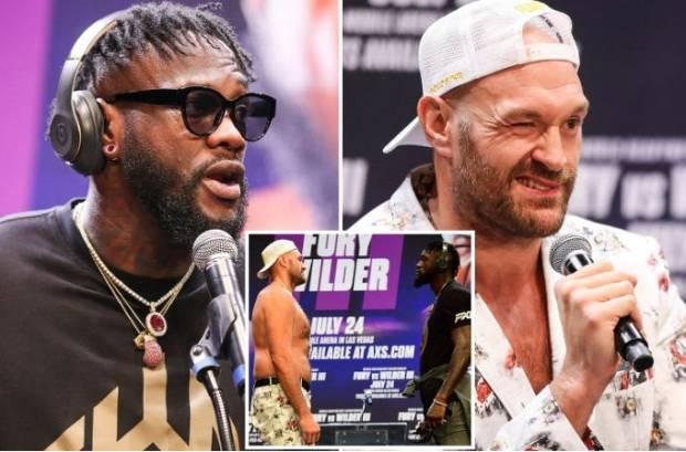 Deontay Wilder Bersumpah Hukum Tyson Fury dengan KO Brutal