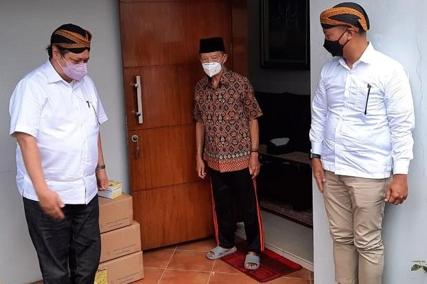 Airlangga Hartarto Datangi Rumah Buya Syafii Ma'arif, Bahas Apa?