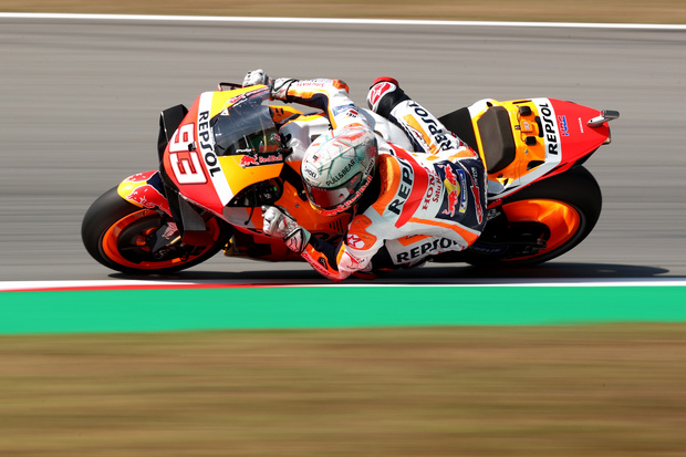 Hasil Latihan Bebas 3 GP Jerman 2021; Marquez dan Rossi Alami Peningkatan