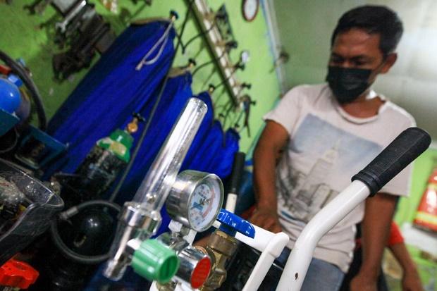 PERSI Dapat Laporan RS di Jawa Tengah Ada yang Kekurangan Oksigen