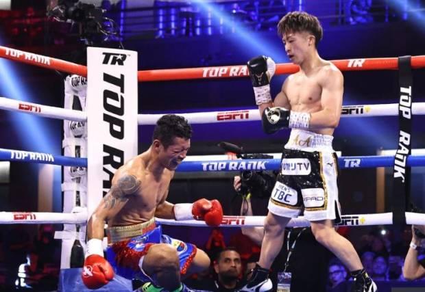 Amuk Monster KO Naoya Inoue 3 Kali Jatuhkan Musuhnya dengan KO Brutal