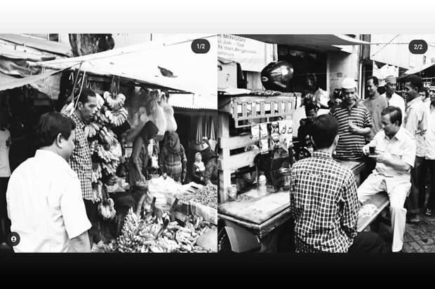 Prabowo Unggah Foto Bareng Jokowi saat Pilgub DKI, Gerindra: Biar Masyarakat yang Simpulkan
