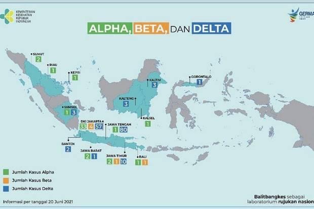 Deteksi 160 Kasus Corona dari Varian Delta, Kemenkes: Terbanyak Jateng