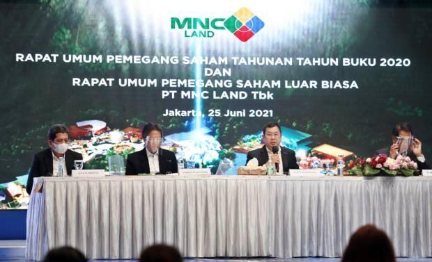 RUPS PT MNC Land Tbk Angkat Ex Direktur ITDC Jadi Wakil Dirut