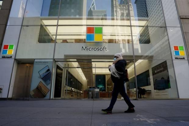 Perdana, Kapitalisasi Pasar Microsoft Tembus Lebih USD2 Triliun