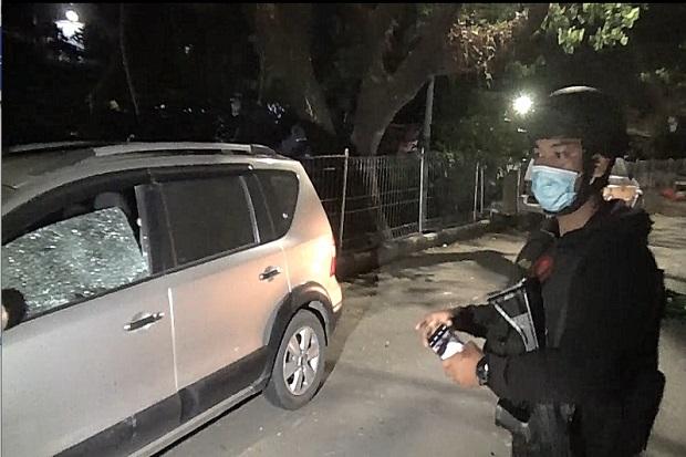 Polisi Pukul Mundur Massa Tawuran Antar-Kelompok di Manggala Makassar