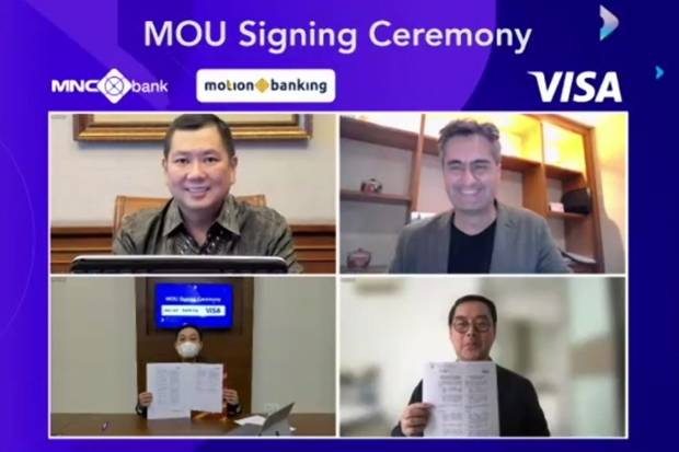 MotionBanking dan Visa Indonesia Kerja Sama Terbitkan Kartu Kredit Virtual Pertama di Indonesia