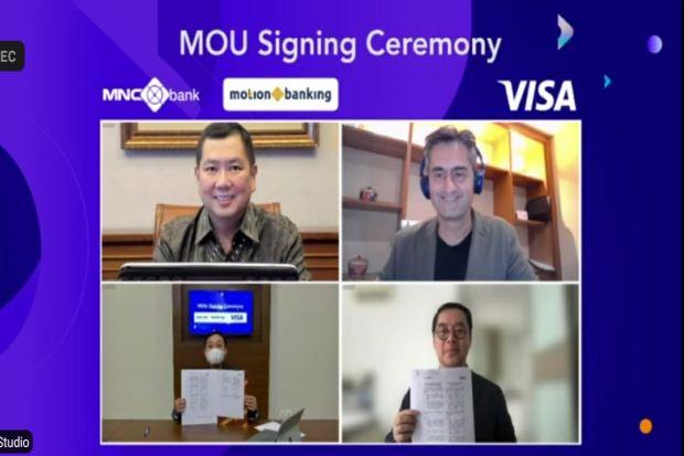 Kartu Kredit Virtual MotionVisa, Sinergi MNC Bank-Visa Indonesia Dorong Pembayaran Nontunai