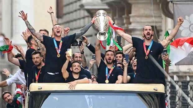 Juara Piala Eropa 2020, Timnas Italia Dapat Gelar Kehormatan