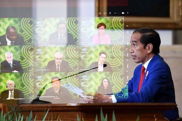 Jokowi Ikuti KTT APEC Bahas Penanganan Pandemi dan Pemulihan Ekonomi