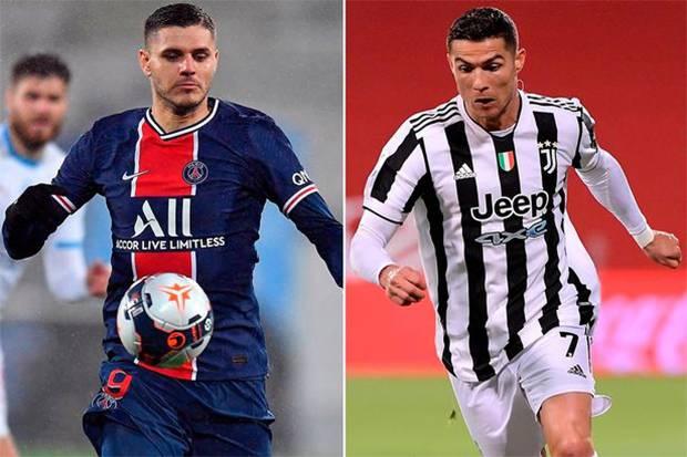 Juventus Pertimbangkan Tukar Ronaldo dengan Mauro Icardi